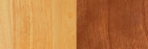 Natural Maple and Cherry