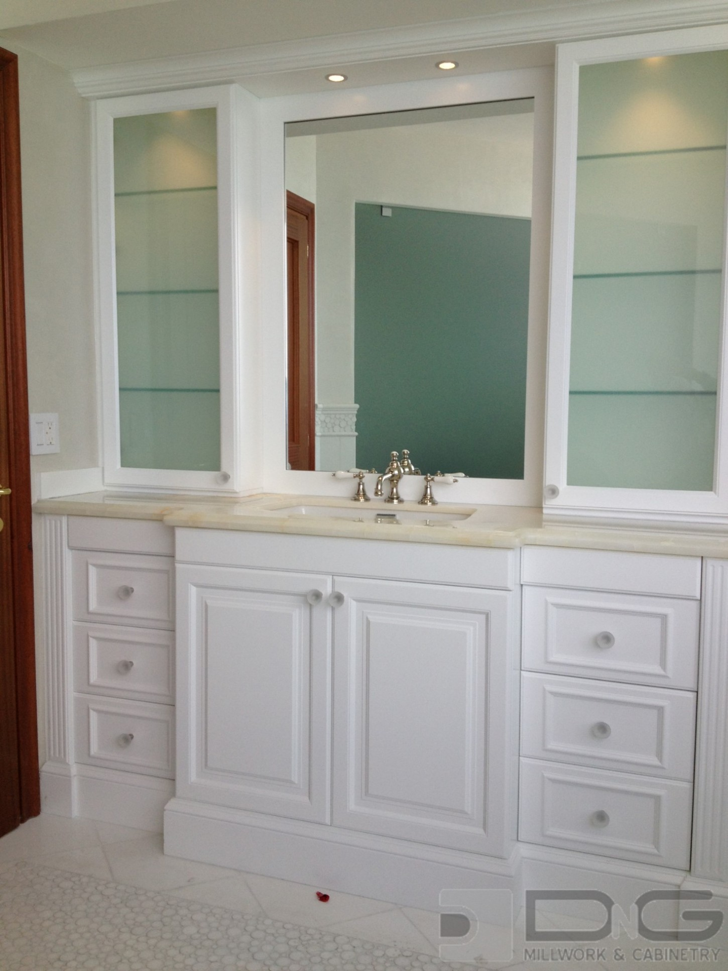 Bathroom Vanity and Storage Cabinets