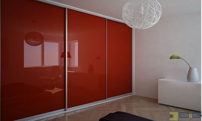 red floor to ceiling sliding closet doors dng