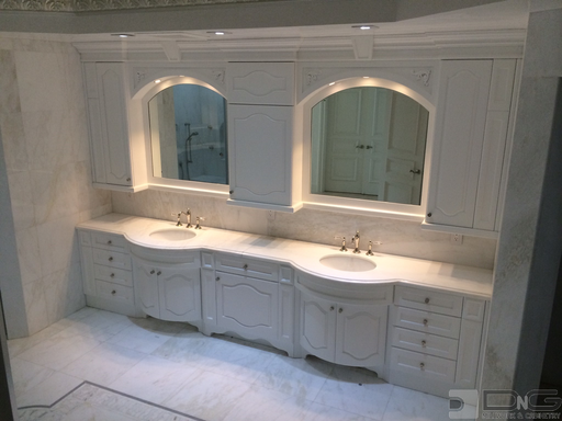 Custom Bathroom Cabinets & Vanities | DNG