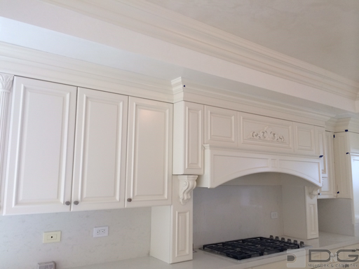 Tradition Upper Cabinets and Range Hood