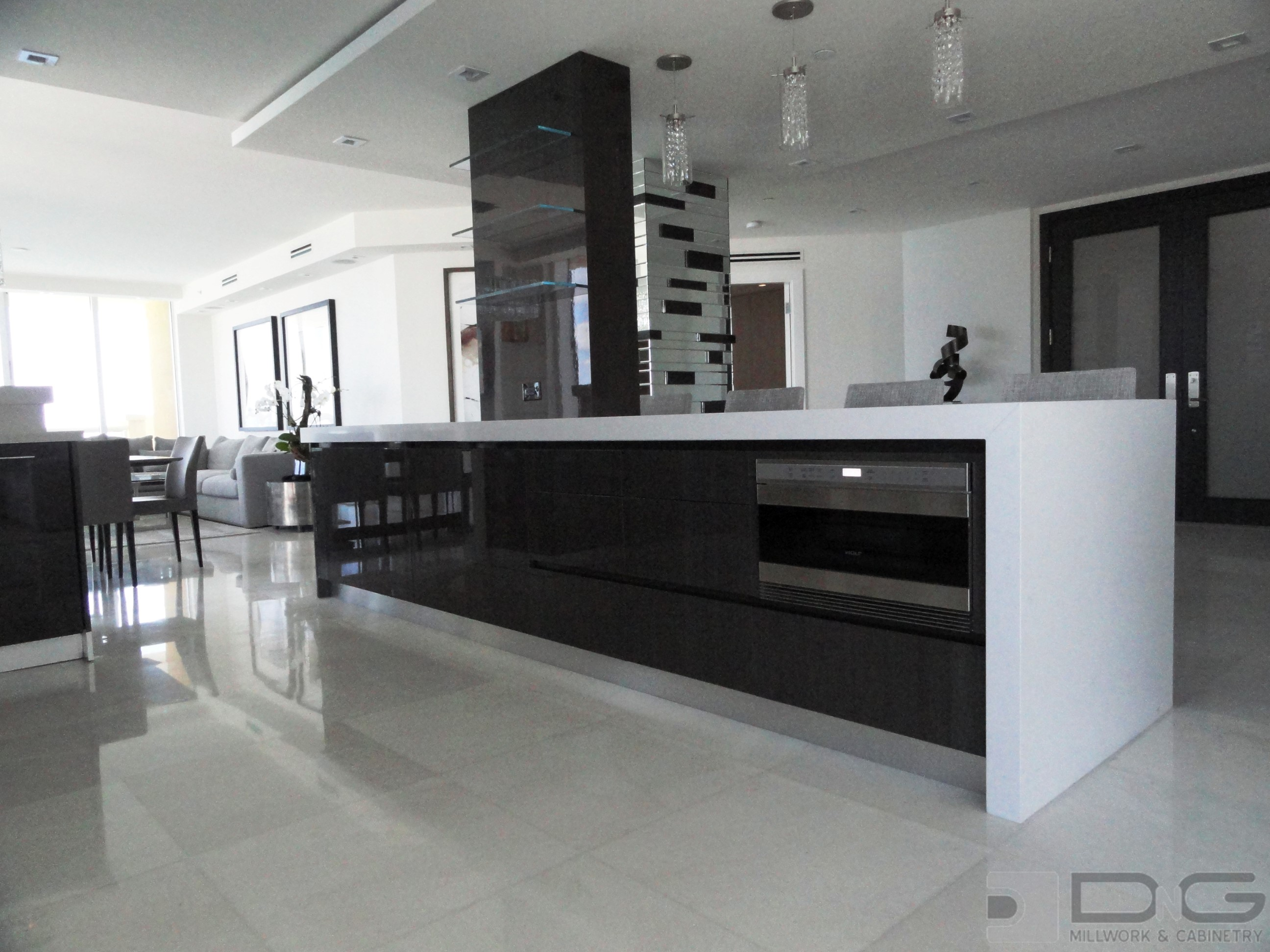 Modern Kitchen   Dng Millwork And Cabinetry   Miami Florida
